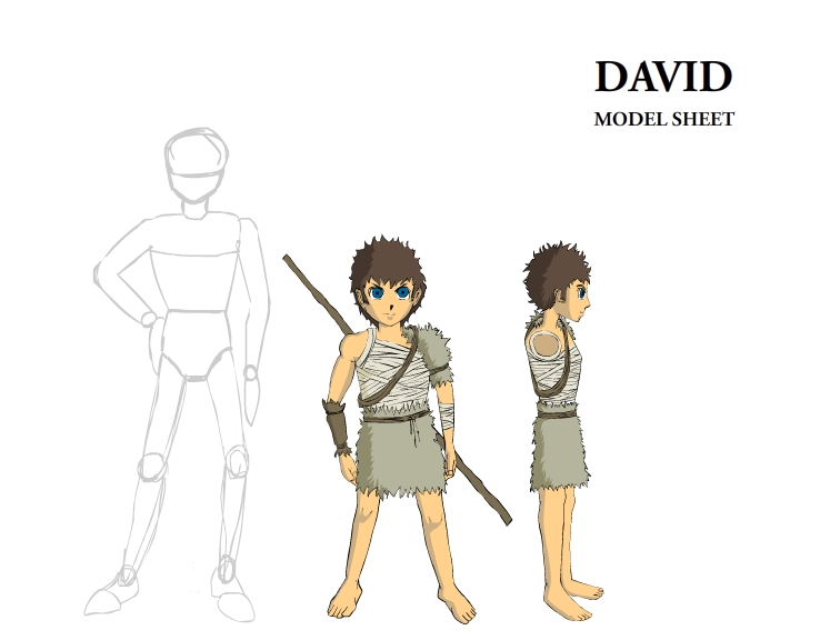 The Art Of Character Design With David Colman Download : David character model sheet by dyerdesign on deviantart