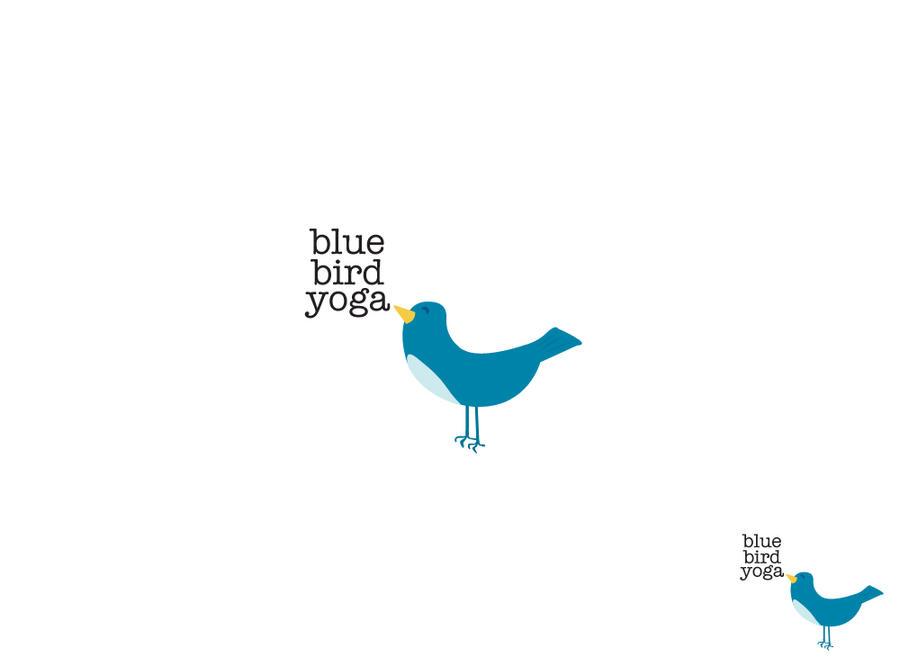 Blue Bird yoga