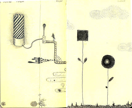 Moleskine sketches 1