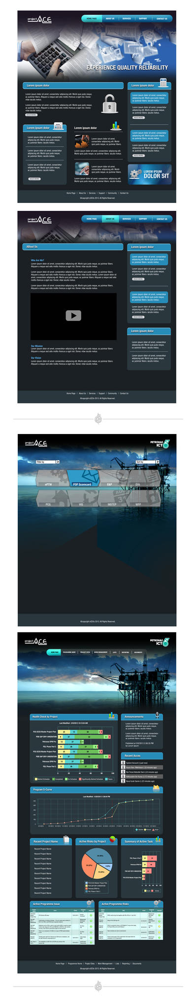 Project Web Design 1 by AimanMD
