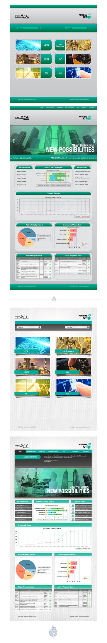 Project Web Design 3 by AimanMD