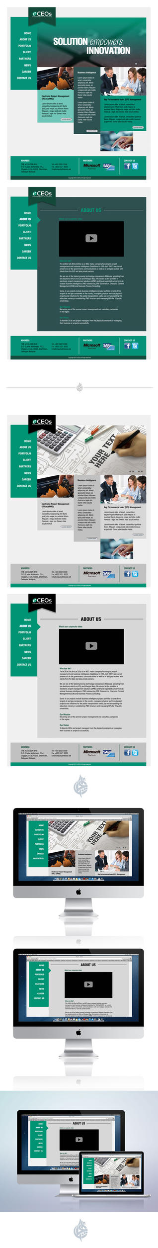 eCEOs Website Design 2 by AimanMD