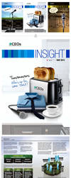 Insight #11 - Newsletter Layout Design by AimanMD