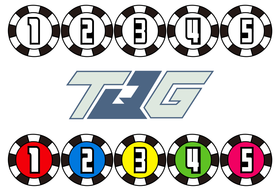 Ressha Sentai ToQGer Number Emblems by CometComics