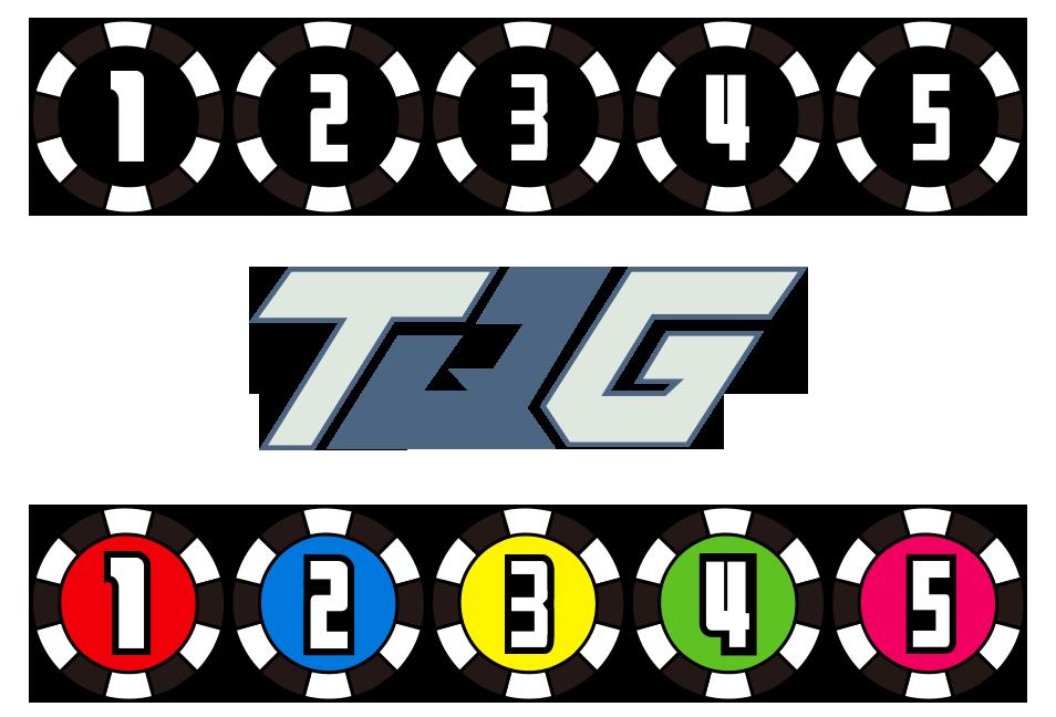 Ressha Sentai ToQGer Number Emblems by CometComics
