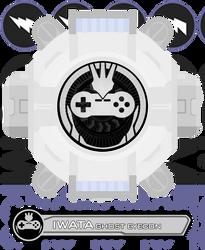 Fan Eyecon - Iwata Ghost Eyecon by CometComics