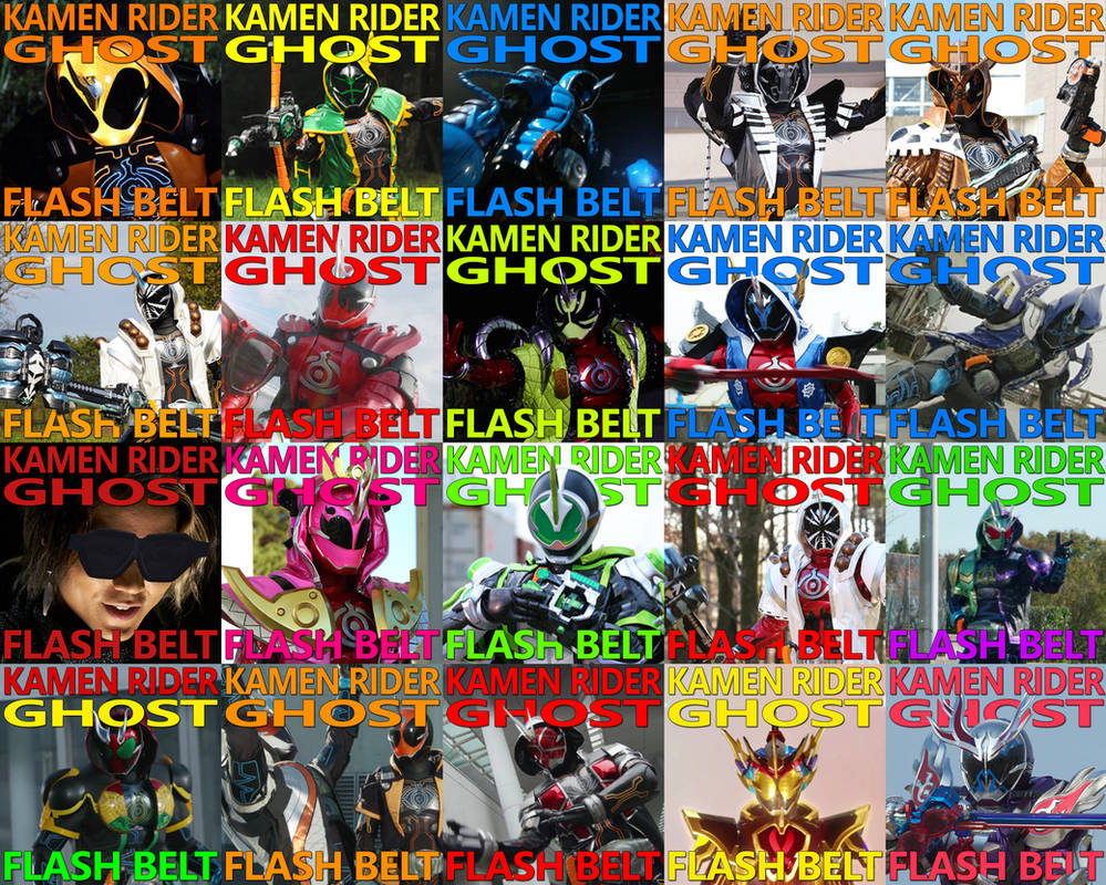 Kamen Rider Flash Belt Preview — Secretsydney