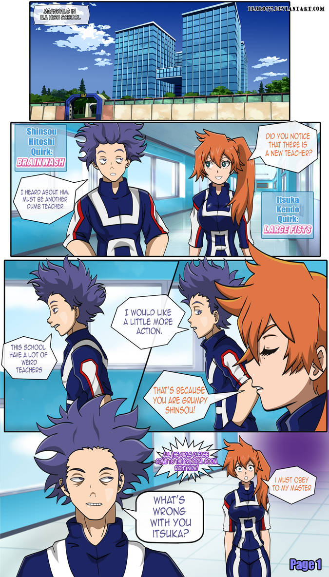 Superhero Mind Control Challenge! - Page 1