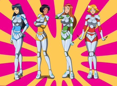 Comm - Totally spies new suits