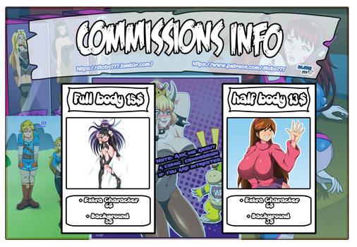 Anuncio Comisiones Info