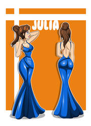 Julia Sexy Dress by dlobo777