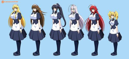 Comm - Maids Girls