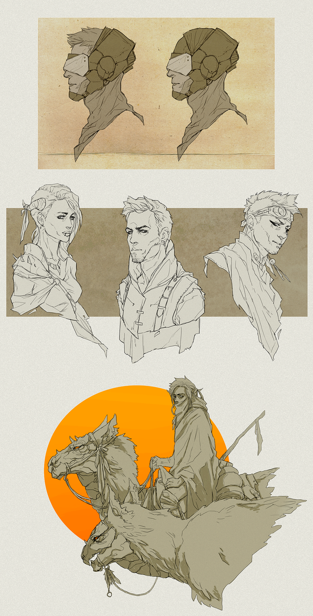 Sketches by creepy9