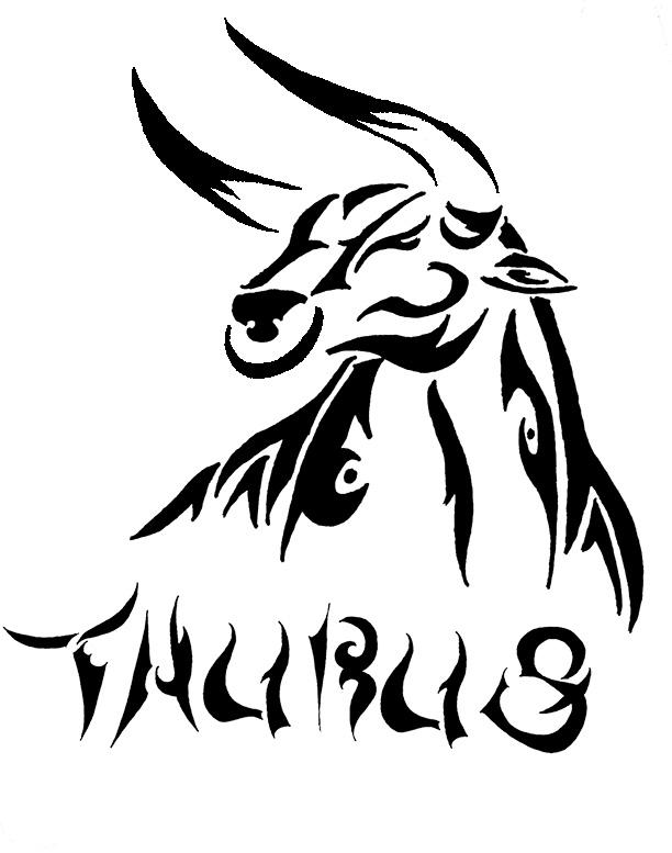 Taurus Tattoo by trollkid2 on DeviantArt Taurus Bull Drawing