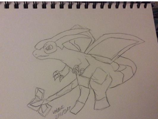 Bug dragon by DeadVoltagexX