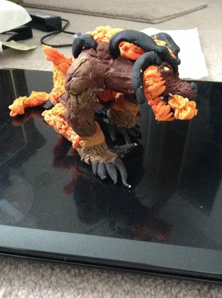 More Clay Ifrit Pics by brynhildr13