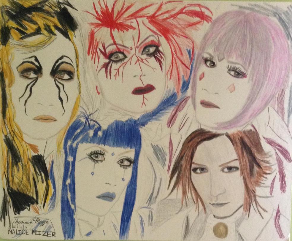 Malice Mizer Le Ciel drawing by brynhildr13