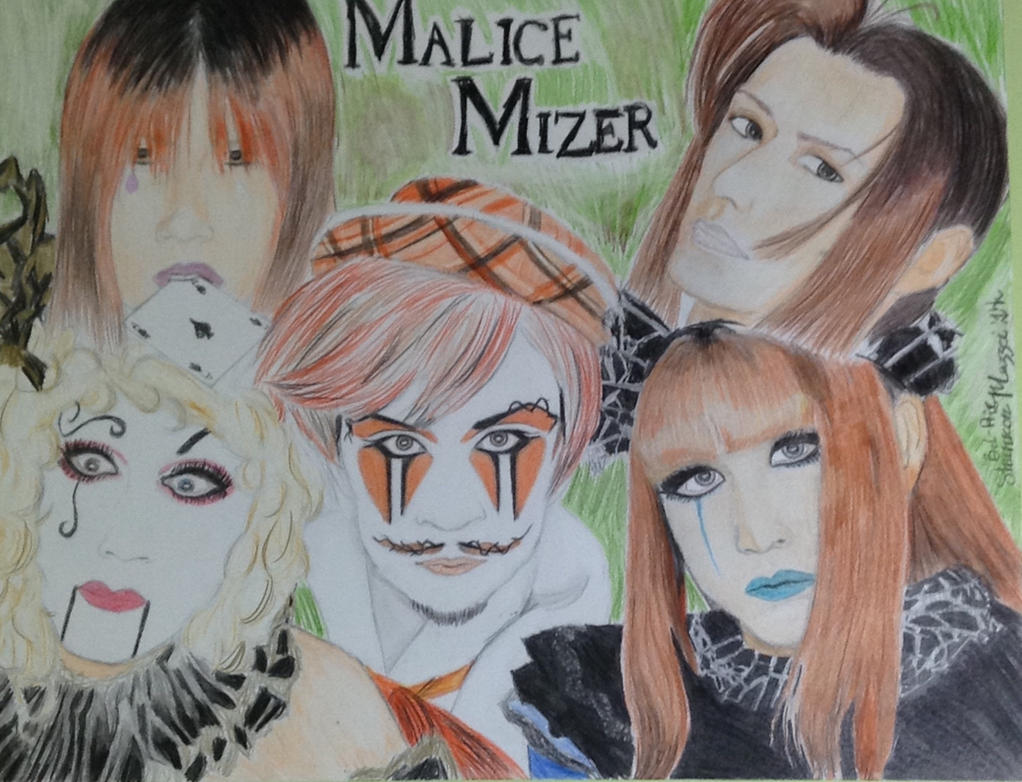 Malice Mizer Bel-Air Drawing by brynhildr13