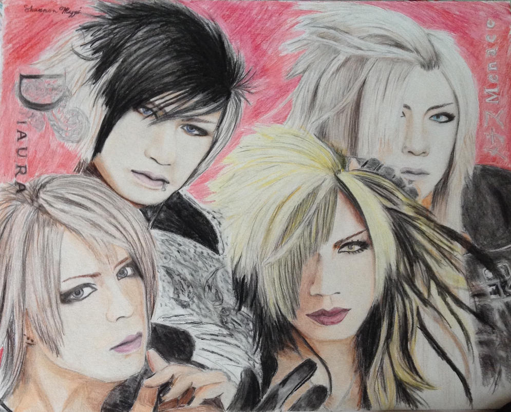 DIAURA Menace Drawing by brynhildr13