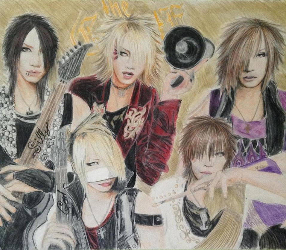 The GazettE Silly God Disco by brynhildr13