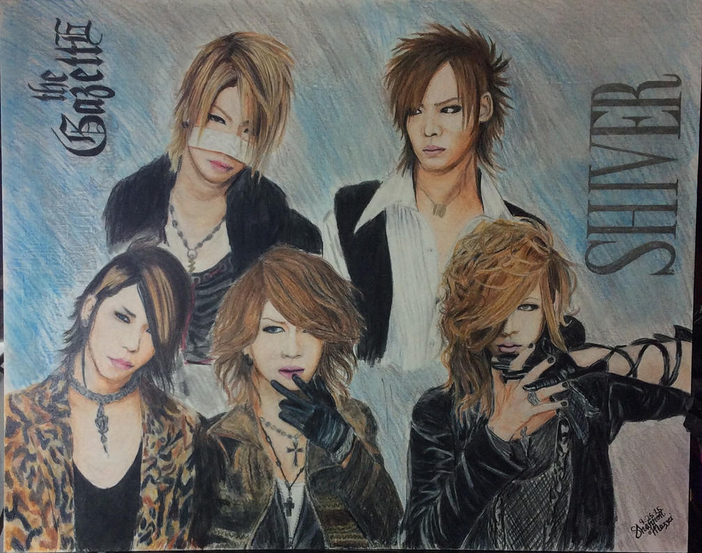 Shiver The GazettE by brynhildr13