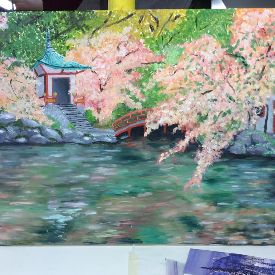 Kyoto Shrine by brynhildr13