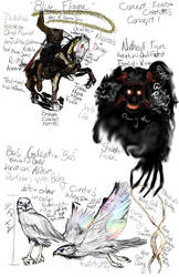 The Blue Flame Concepts : FiendS and Creatures