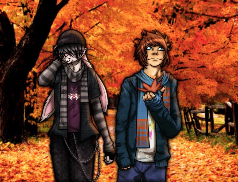 "Furthia High ""Autumn Stroll"" by JasmineAlexandra"