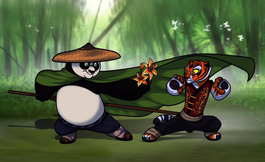 Po and Tigress by Killyfost on DeviantArt