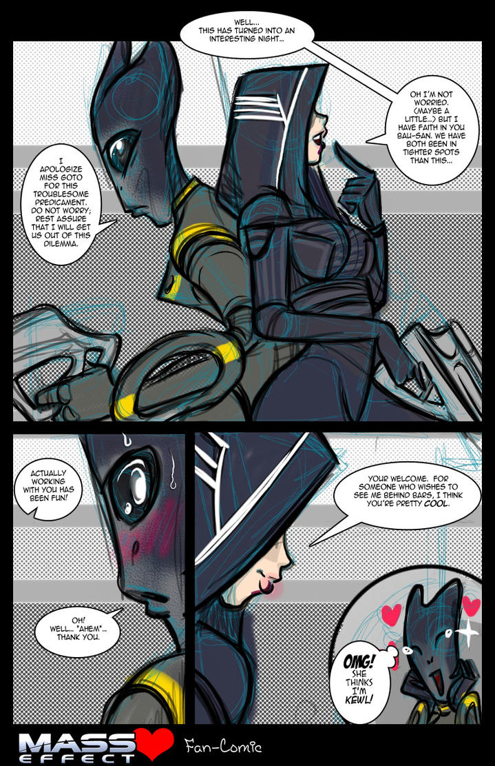 Kasumi Goto Jondum Bau Comic By JasmineAlexandra
