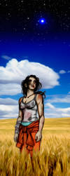 Portal2 Chell+Wheatley 'Betrayed and Free by JasmineAlexandra