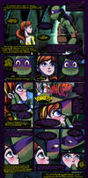 Donatello+April Fan-Comic Parachute