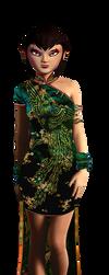 Karai's Dress by JasmineAlexandra