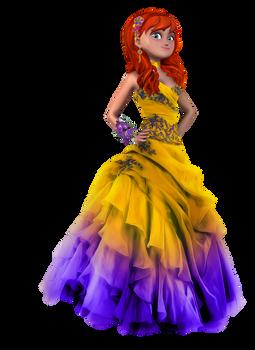 April's Prom Dress by JasmineAlexandra