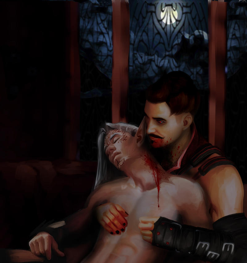 Pavellan Halloween Contest 'Vampire Dorian by JasmineAlexandra