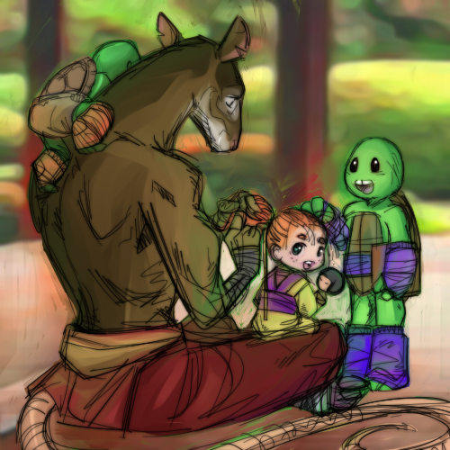 Splinter's Children by JasmineAlexandra