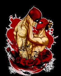 Red Masks by JasmineAlexandra