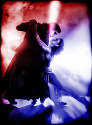 Reylo Kylo-Ren and Rey Tango of Light and Dark