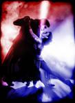 Reylo Kylo-Ren and Rey Tango of Light and Dark by JasmineAlexandra