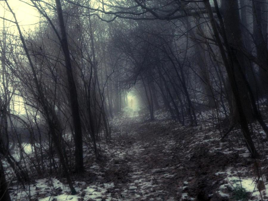 A misty man by Saihai