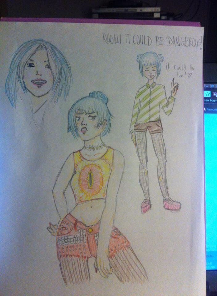 Haha, more of Naomi, more contests. by Saihai