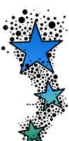 Stars n Bubbles Tattoo Design by abbott567