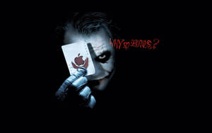 Joker Apple Desktop Wallpaper by abbott567