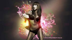 Dazzling Hot Girl by abbott567