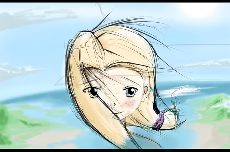 Island Girl by Firgof