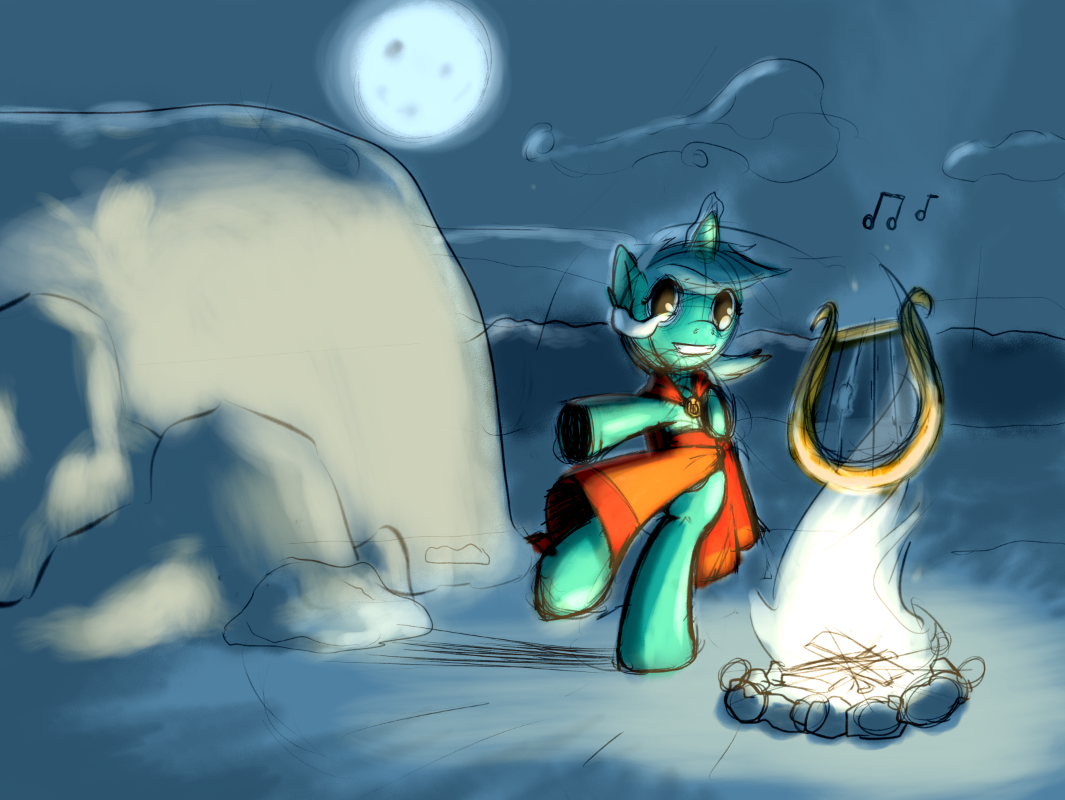 Come Dance By My Fire by Firgof