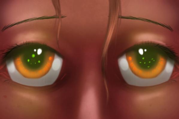 Fire Eyes by Firgof