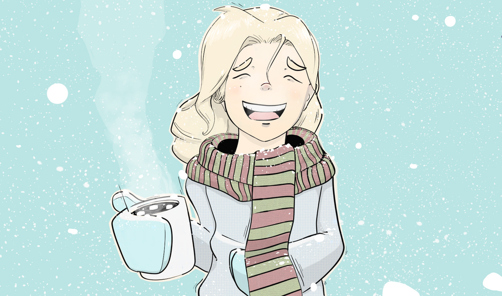 Halley in the Snow by Firgof