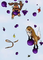 Grapes by vikiuz