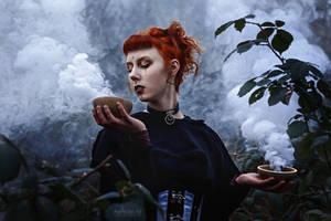 Feeling Smokey by AnnPhoenixArt